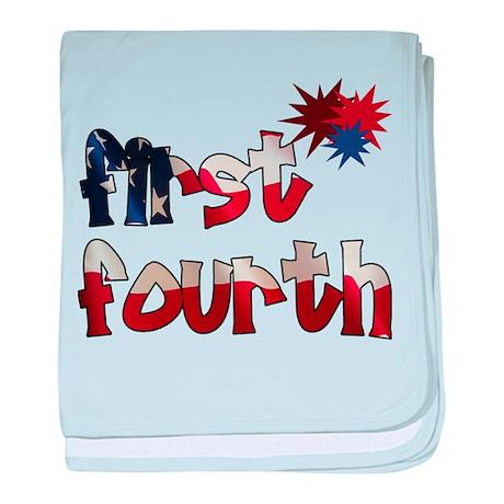 First Fourth - Infant Blanket