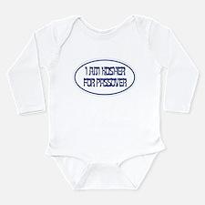 Kosher for Passover - Long Sleeve Infant Bodysuit