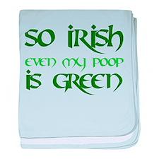 Green Poop - Infant Blanket