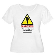 Warning! Hungry and Wearing S T-Shirt