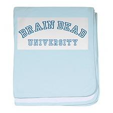 Brain Dead University Infant Blanket
