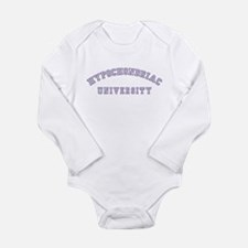 Hypochondriac University Long Sleeve Infant Bodysu