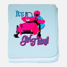 It's a girl thing Infant Blanket