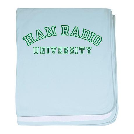 Ham Radio University Infant Blanket