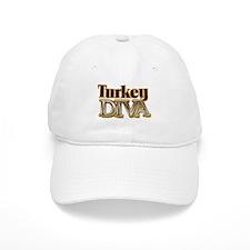 Turkey Diva Baseball Cap
