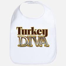 Turkey Diva Bib