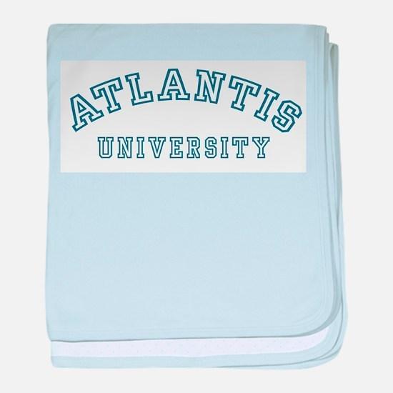 Atlantis University Infant Blanket