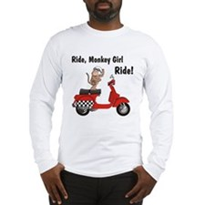 Classic ScooterMonkey Long Sleeve T-Shirt