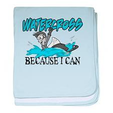 Watercross Infant Blanket
