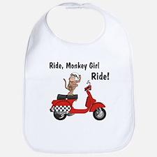 Classic ScooterMonkey Bib