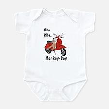 Classic ScooterMonkey Infant Creeper