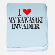 I Heart My Invader Infant Blanket