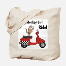 Classic ScooterMonkey Tote Bag