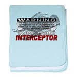 Interceptor Warning II baby blanket