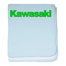 Kawasaki Green Infant Blanket