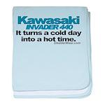 Cold Day - Hot Time - Kawasak Infant Blanket