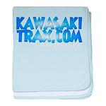 KawasakiTrax.com Logo Infant Blanket
