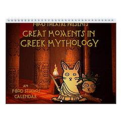 Great Moments in Greek Mythology Wall Calendar