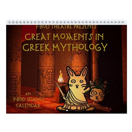 Great Moments in Greek Mythology Wall Calendar