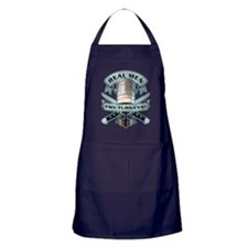 Real Men Fry Turkeys! Apron (dark)
