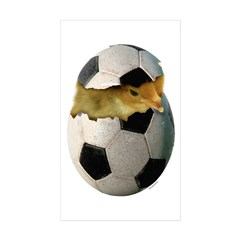 Soccer Chick Decal