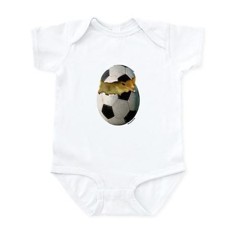 Soccer Chick Infant Bodysuit