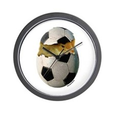 Soccer Chick Wall Clock