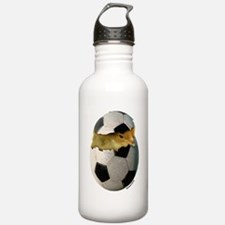 Soccer Chick Water Bottle