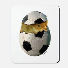 Soccer Chick Mousepad