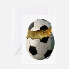 Soccer Chick Greeting Cards (Pk of 20)