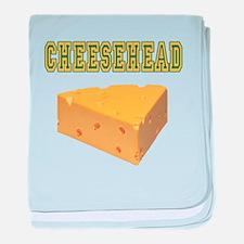 Cheesehead Infant Blanket