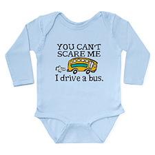Bus Driver Long Sleeve Infant Bodysuit