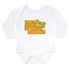 Cute School bus Long Sleeve Infant Bodysuit