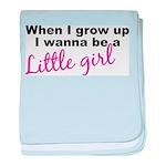 Little Girl Infant Blanket