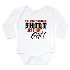 Basketball - Shoot Like a Girl Long Sleeve Infant