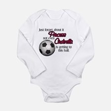 Princess can't get to Long Sleeve Infant Bodysuit