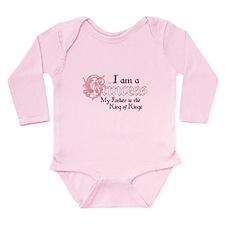 I am a princess King of Kings Long Sleeve Infant B