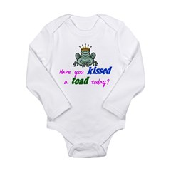 Kiss a Toad? Long Sleeve Infant Bodysuit