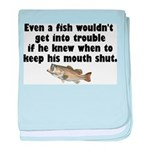 Dumb Fish Infant Blanket