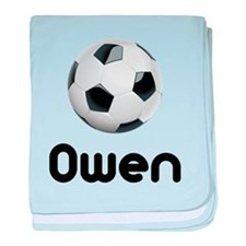 Soccer Owen Infant Blanket