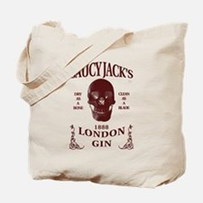 Saucy Jack's London Gin Tote Bag