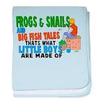 Frogs & Snails Infant Blanket