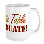 Kiddie Table Graduate Large Mug