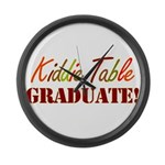 Kiddie Table Graduate Large Wall Clock