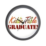 Kiddie Table Graduate Wall Clock