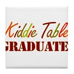 Kiddie Table Graduate Tile Coaster