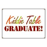 Kiddie Table Graduate Banner
