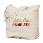 Kiddie Table Graduate Tote Bag