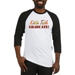 Kiddie Table Graduate Baseball Jersey