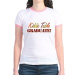 Kiddie Table Graduate Jr. Ringer T-Shirt